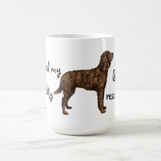 Rescue American Water Spaniel Coffee Mug