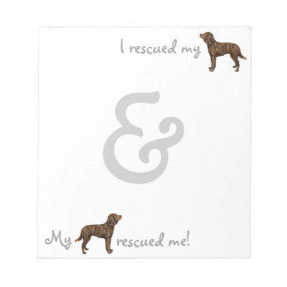 Rescue American Water Spaniel Notepads