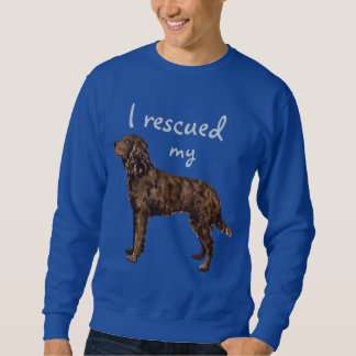 Rescue American Water Spaniel Pull Over Sweatshirt
