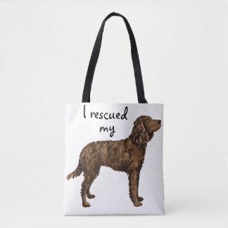 Rescue American Water Spaniel Tote Bag