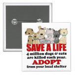 Rescue Animals Badges
