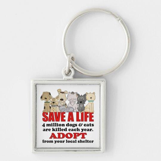Rescue Animals Key Ring