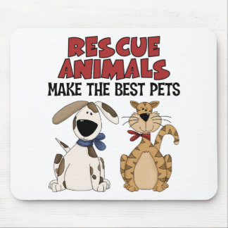 Rescue Animals Make The Best Pets Mousepad