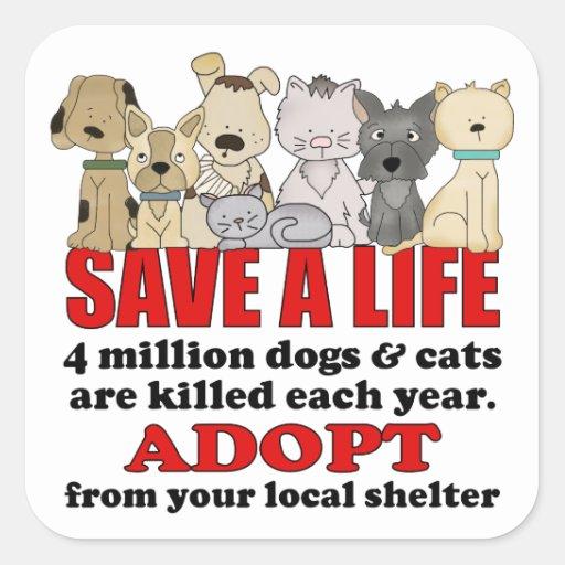 Rescue Animals Stickers