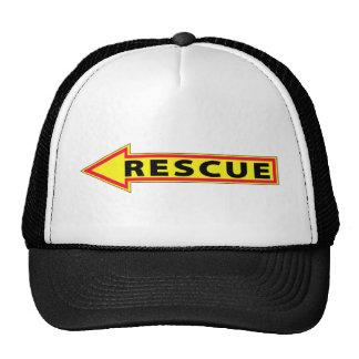 Rescue Arrow - Left Mesh Hat