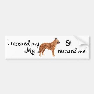 Rescue Belgian Laekenois Bumper Sticker