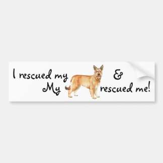 Rescue Berger Picard Bumper Sticker