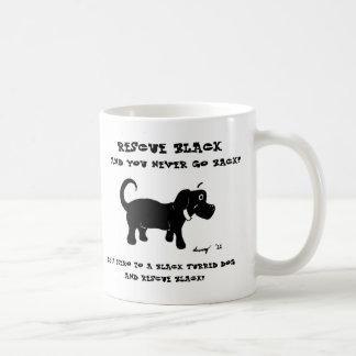 Rescue Black Dogs Mug