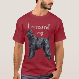 Rescue Black Russian Terrier T-Shirt