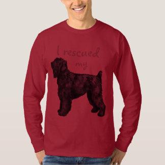 Rescue Black Russian Terrier Tee Shirt