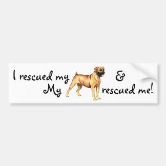 Rescue Boerboel Bumper Sticker