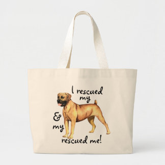 Rescue Boerboel Large Tote Bag
