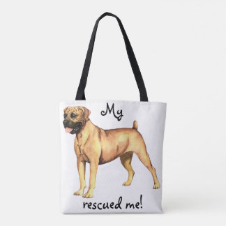 Rescue Boerboel Tote Bag
