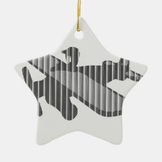 Rescue By Air Ceramic Star Decoration
