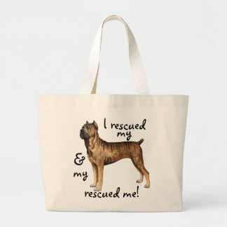 Rescue Cane Corso Large Tote Bag