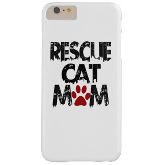 Rescue Cat Mom Barely There iPhone 6 Plus Case