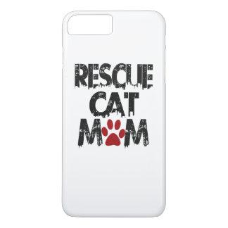 Rescue Cat Mom iPhone 7 Plus Case
