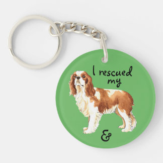Rescue Cavalier Key Ring