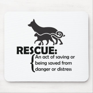 Rescue Definition Mouse Pad