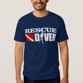 Rescue Diver 2 Apparel T-shirts