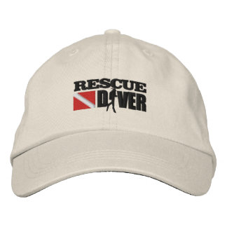 Rescue Diver 2 Cap (Embroidered) Embroidered Baseball Cap