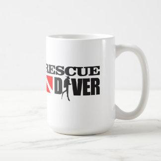Rescue Diver 2 Basic White Mug
