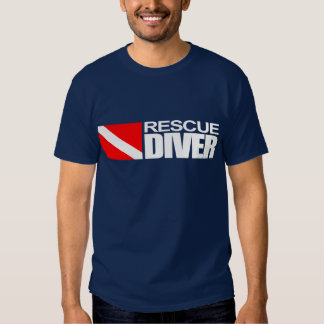 Rescue Diver 4 Apparel Tee Shirts