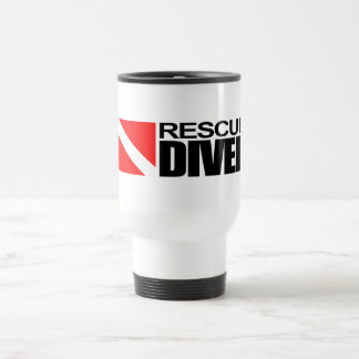 Rescue Diver 4 Stainless Steel Travel Mug