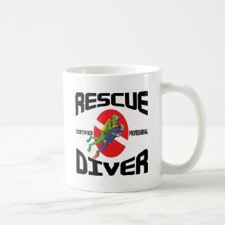 Rescue Diver Basic White Mug