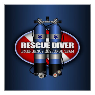 Rescue Diver (ST) Poster