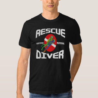 Rescue Diver Tee Shirts