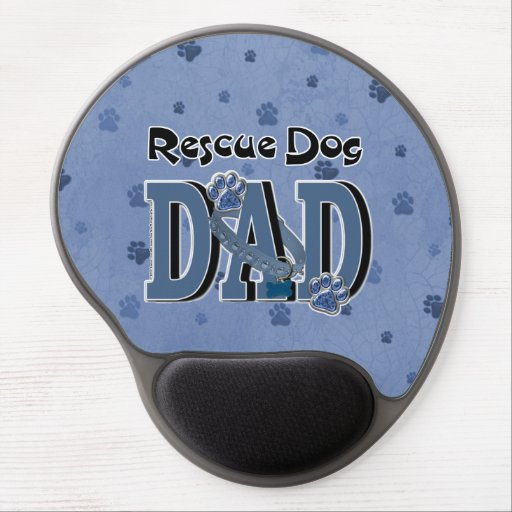 Rescue Dog DAD Gel Mouse Pad