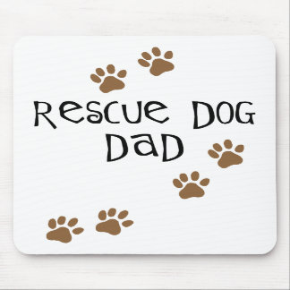 Rescue Dog Dad Mouse Mat