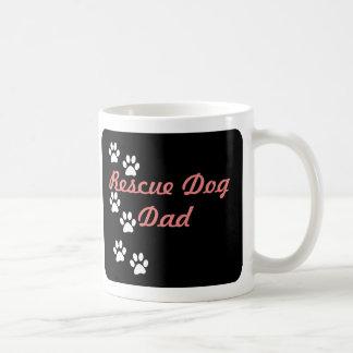 Rescue Dog Dad Basic White Mug