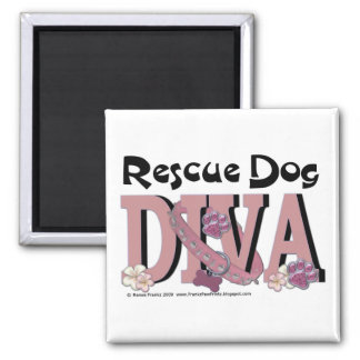 Rescue Dog DIVA Magnet