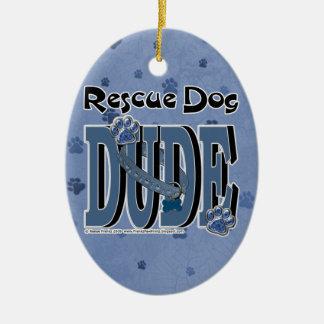 Rescue Dog DUDE Ornament