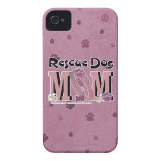 Rescue Dog MOM Case-Mate iPhone 4 Cases