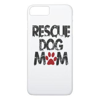 Rescue Dog Mom iPhone 7 Plus Case