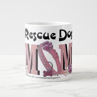 Rescue Dog MOM Jumbo Mug
