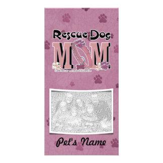 Rescue Dog MOM Photo Card Template