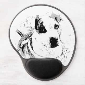Rescue Dog Mouse Pad Gel Mouse Pad