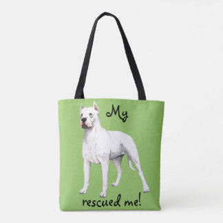 Rescue Dogo Argentino Tote Bag