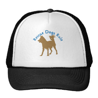 Rescue Dogs Rule v3 Mesh Hat