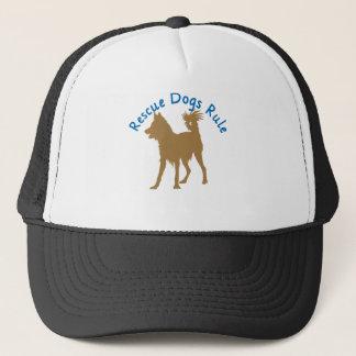 Rescue Dogs Rule v3 Trucker Hat
