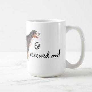 Rescue Greater Swiss Mountain Dog Basic White Mug
