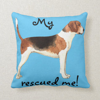 Rescue Harrier Throw Pillow