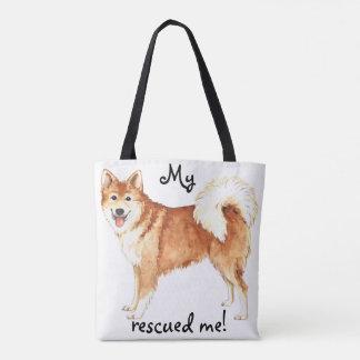 Rescue Icelandic Sheepdog Tote Bag