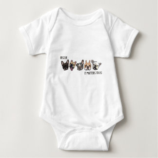 Rescue - It Matters To Us Baby Bodysuit