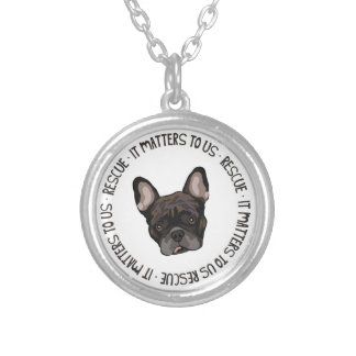 Rescue - It Matters To Us Silver Plated Necklace