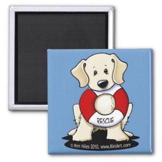 Rescue Lab Magnet